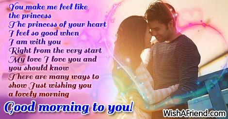 Good Morning Message For Husband You Make Me Feel Like The