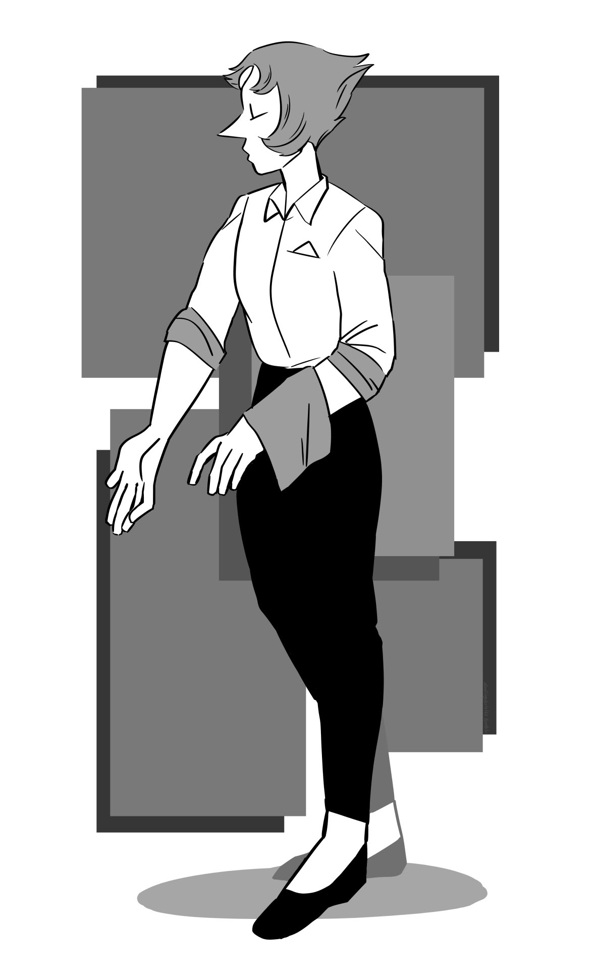 pearl looks really good in formal wear