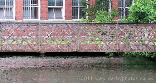 Footbridge at Belper River Gardens by Andrew Handyside 2