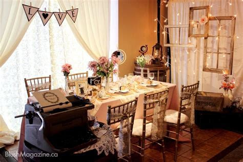 Vintage Decor by Details Vintage Decor Rentals Edmonton