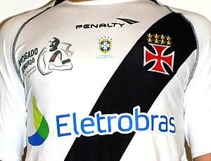 Leilão da camisa de despedida do Edmundo Vasco (Foto: Divulgação)
