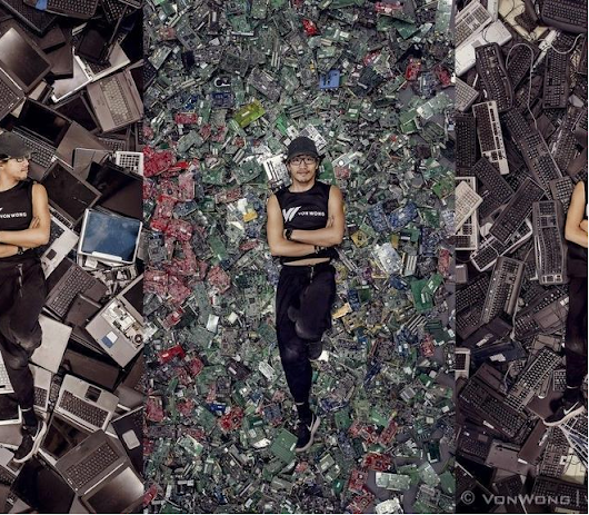 Fighting e-Waste with Dell Corporate Savvy and Art