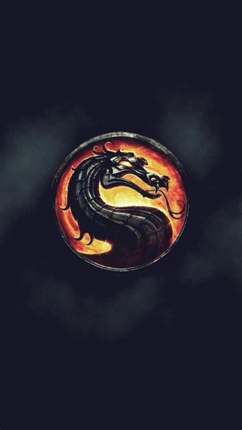video games pc mortal kombat logo widescreen wallpaper