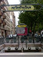 A Métro station