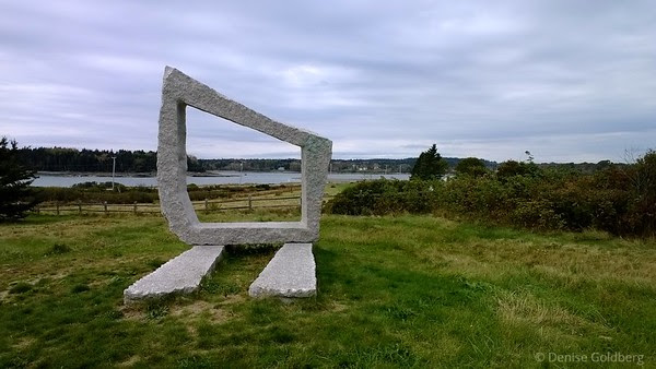 at Scott's Landing preserve, Deer Isle, Maine