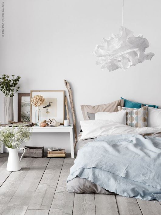 Chicdeco blog | How to create a fresh bedroom in summer