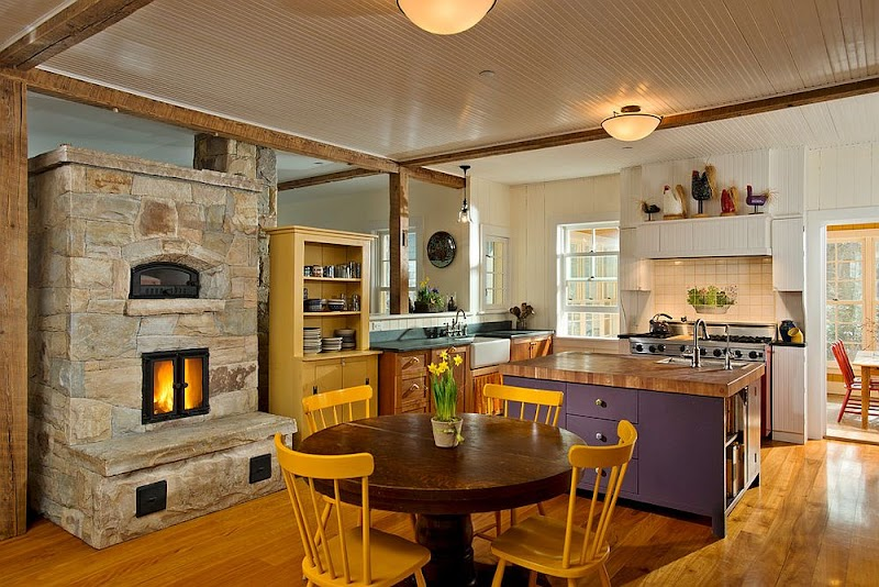 Ideas For Open Hearth Cooking Fireplace Design Photos
