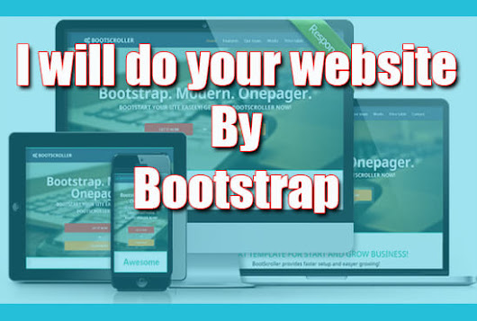 mousumiaktar : I will do your website by using bootstrap latest version for $5 on www.fiverr.com