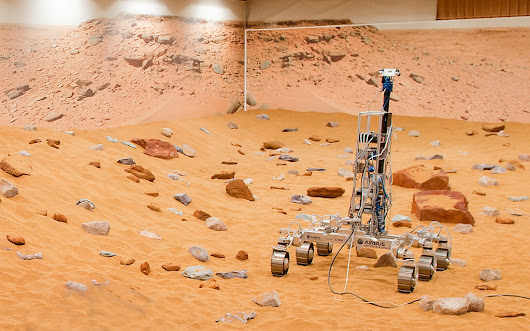 Martian Rover Prototype 'Bryan' Roves Renovated 'Mars Yard' In Europe
