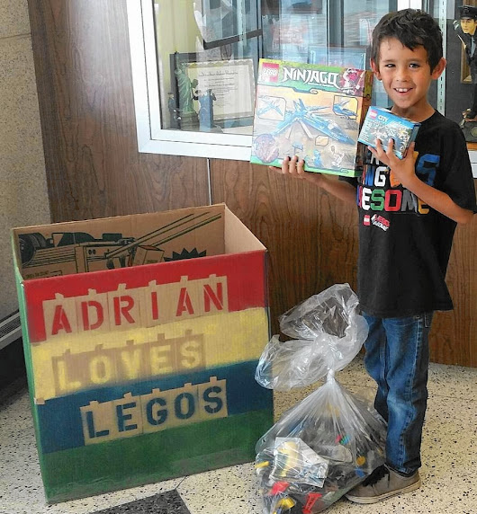Des Plaines boy collecting Legos for impoverished Guatemalan children