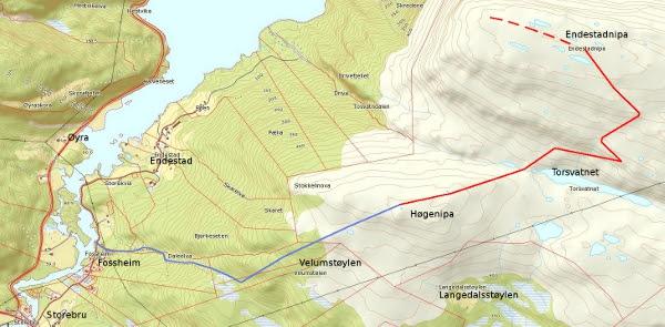Kart Endestadnipa-600