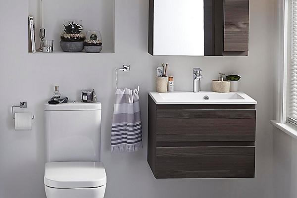 Small bathroom ideas | Ideas & Advice | DIY at B&Q