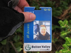my lost ski pass!
