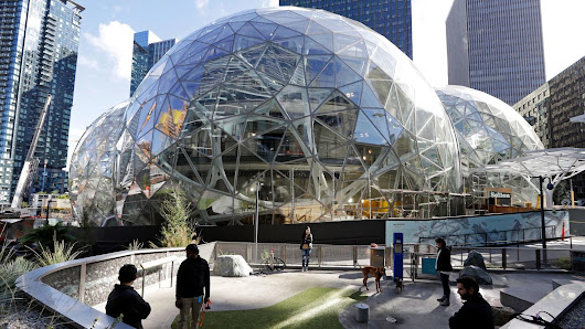 Amazon is considering L.A. and 19 other places for its second headquarters