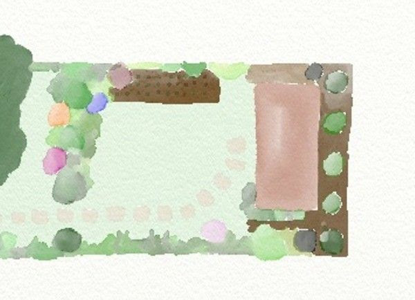 Garden Watercolour