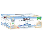Kerry Food & Beverage Kirkland Signature Complete Nutritional Shake, Vanilla, 32-Count