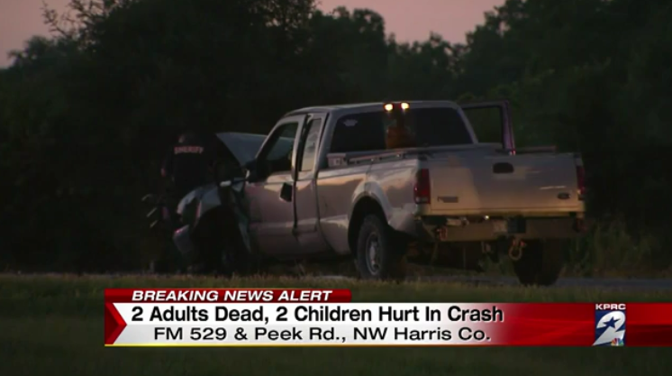Two Killed, 4 Children Injured in Katy, TX Drunk Driving Accident