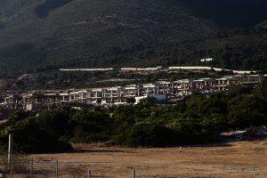Punimet në Palasë fotografuar në shtator 2016. Foto: Lindita Çela/BIRN
