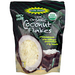 Lets Do Organic Coconut Flakes, 100% Organic - 7 oz
