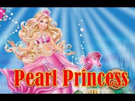Barbie The Pearl Princess Tale Game   Barbie Mermaid Dress