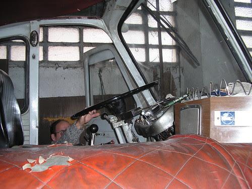 Interior d'un Pegaso 1062