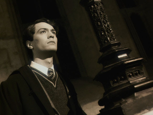 tom riddle in Chamber of Secrets