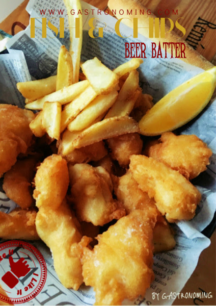 Fish and Chips, beer batter - Gastronoming