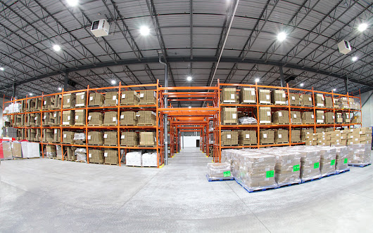 Driving Sustainability Through Our Warehouse LED Lighting | Ravenshoe Group