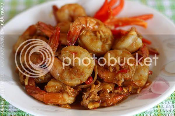Stir Fry Garlic Shrimp2