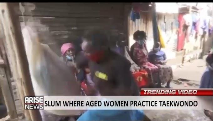 Korogocho: Kenyan Slum Where Women Practice Taekwondo For Self Defense