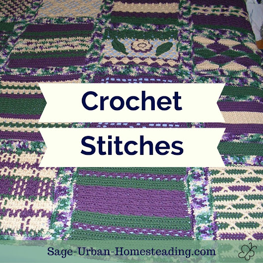 An Overview of Crochet Stitches and Samplers