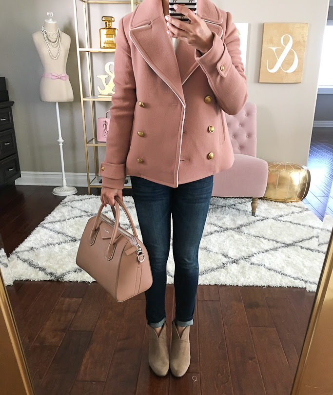 Petite Friendly Poncho, J.Crew Short Double Breasted Coat