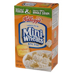 Kellogg's Mini-Wheats Cereal Bite Size Frosted 1.31oz (PACK OF 70)