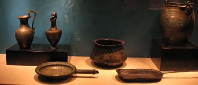 Utiles de cocina romanos