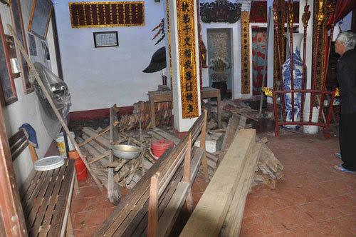 dỡ đình làng, gỗ sưa
