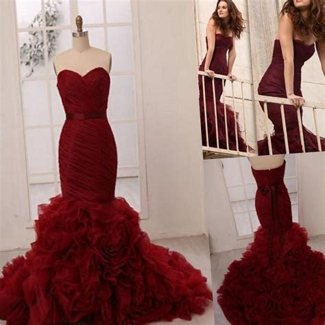 Red plus size wedding dresses   PlusLook.eu Collection