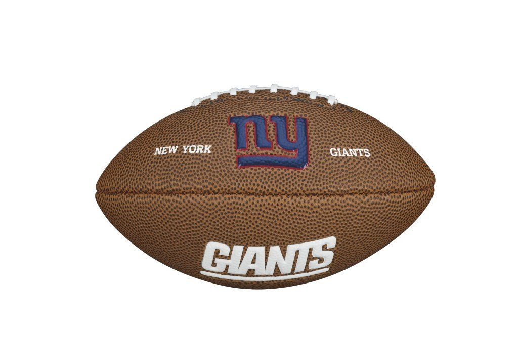New Wilson NFL Mini Team Logo American Football Junior Mini Size Ball