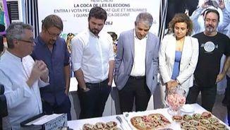 Els candidats catalans han passat per la pastisseria Escribà