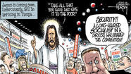 Romney-Ryan Republicans pray to Jesus but bow to Ayn Rand
