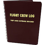 Red Flight Crew Logbook