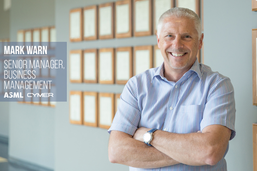 Mark Warn | Senior Business Manager for Account Management Cymer/ASML