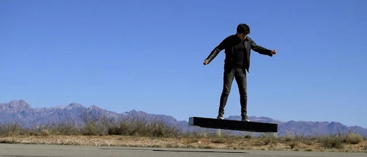 Hoverboard ready for take off |