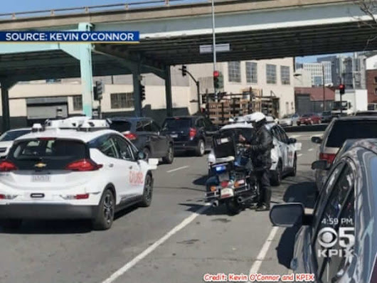 Second Incident with Self-Driving Car and Passenger, This Time in San Francisco, While Uber Settles with Dead Pedestrian's Family in Record Time - The Internet Patrol