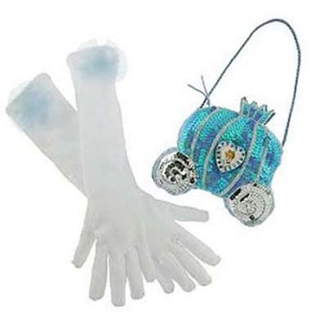 Disney Costume   Princess Gloves and Purse Set   Cinderella