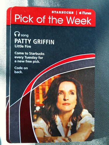 Starbucks iTunes Pick of the Week - Patty Griffin - Little Fire #fb