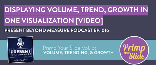 Chart Volume, Trend & Growth in One Visualization [Video]