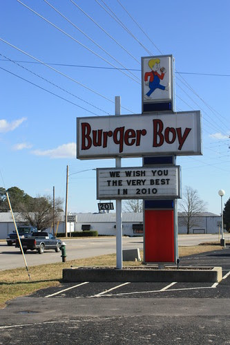 Burger Boy wishes you the very best in 2010