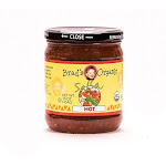 Brad's Organic Salsa, Hot, 16 Ounce