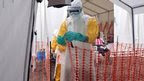 Health workers in Liberia, 28 Oct