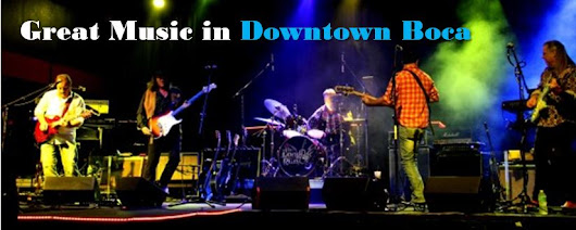 Enjoy a Week of Great Music in Downtown Boca - Rock, Classical, Blues, Flamenco and More.